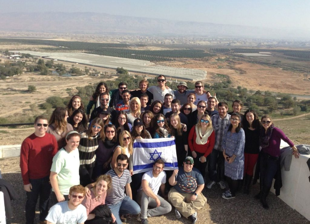 Students learned about the strategic importance of maintaing the Jordan Valley. They also learned about the economic benefit of Israel's control for both Jews and Arabs.
