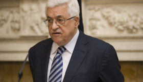 PA President Mahmoud Abbas, the man who would take over a Palestinian state, regularly promotes and funds terrorism and incites hatred (photo credit: Flickr, Cabinet Office).