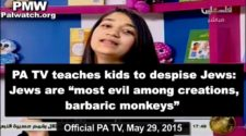 """PA TV: """"Jews are Barbaric Monkeys, Most Evil Among Creations"""""""