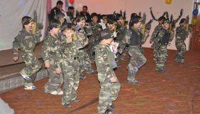Hamas graduates child soldiers from kindergarten in Gaza (photo credit: Flickr,  Israel Defense Forces).